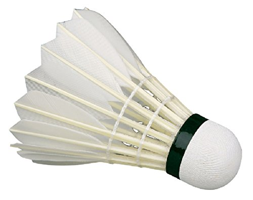 Something4u Feather Shuttlecock (Pack Of 20, White)