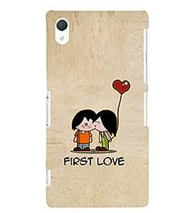 EPICCASE cute love Mobile Back Case Cover For Sony Xperia Z2 (Designer Case)