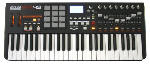 AKAI USB/MIDI PERFORMANCE KEYBOARD MPK49