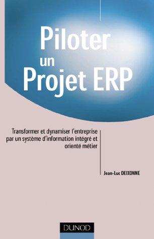 Piloter un projet ERP