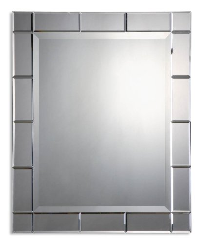 цена Uttermost Makura Beveled Mirrors On Frame Front And Sides Mirror