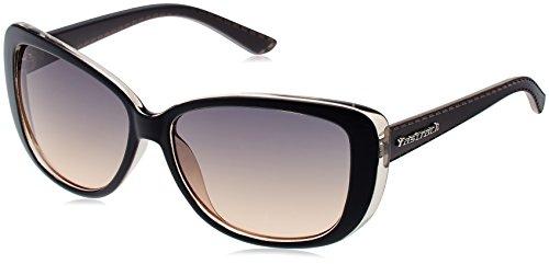 Fastrack Fastrack Oversized Sunglasses (Burgundy) (P237BU1F) (Red)