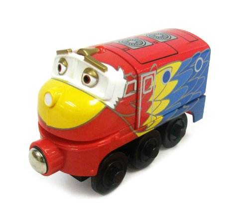 Chuggington Wooden Railway Parrot Wilson back-993183