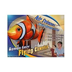 AIR SWIMMERS FLYING CLOWNFISH REMOTE CONTROL