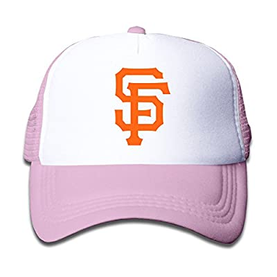 Personalized San Francisco Giants Baseball Baby Kids Caps Pink