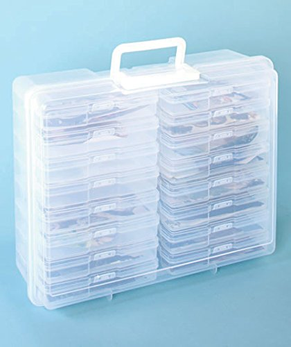 Scrapbooking 1,600 Photo Organizer Case - 16 Inner Cases - Snap Closures, Standard Shipping Only 2pcs set embossing folders clear stamps card making acrylic vintage for photo scrapbooking stamp clear stamps for scrapbooking