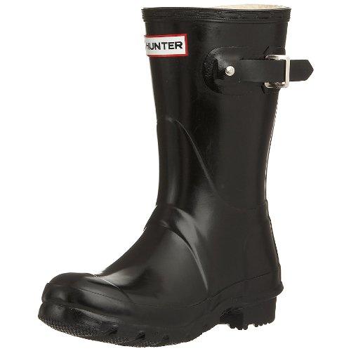 Hunter Women's Original Gloss Short Wellies Black W23700 5 UK