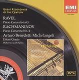 ラヴェル:ピアノ協奏曲&ラフマニノフ:ピアノ協奏曲第4番