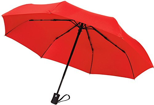 Crown Coast Umbrellas | Free Replacement Guarantee - Heavy Duty Auto Open/Close Travel Umbrella Windproof Up To 60 MPH Winds - Frame Won't Break If Flipped Inside Out - Customer Service Backed Product (Pro 4 Service Course compare prices)
