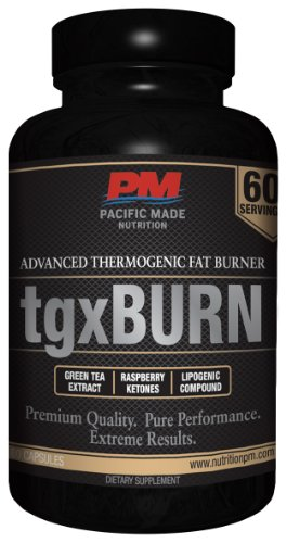 Tgxburn Advanced Thermogenic Fat Burning Formula / The Ultimate Fat Burning Solution / 60 Servings (Capsules)