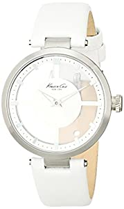 Kenneth Cole New York Women's KC2609 White Transparent Dial Watch