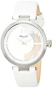 Kenneth Cole New York Women's KC2609 Transparency Classic White Transparent Dial Watch