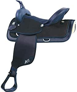 Abetta Hi-Back Saddle 15 BLK
