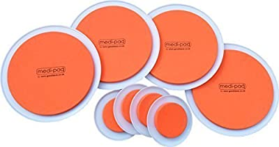 Medipaq® The SUPER FURNITURE SLIDERS (Genuine Original Orange Discs by Medipaq) - Moving Heavy Furniture Has Never Been Easier! 8 PIECE VALUE PACK.
