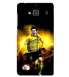 PRINTSHOPPII MESSI FANS Back Case Cover for Xiaomi Redmi 2S::Xiaomi Redmi 2::Xiaomi Redmi 2 Prime
