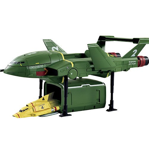 Thunderbirds Are Go! Supersize Thunderbird 2 + Thunderbird 4 Playset (Inviato da UK)