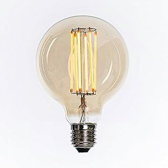 Purelume led edison masterglobe lampe 6w e27 240v for Nostalgische lampen