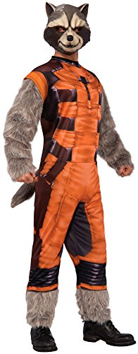 Rubie's Costume Co Men's Guardians Of The Galaxy Adult Rocket Raccoon Costume