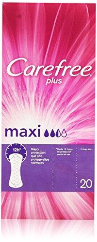 Carefree Plus Proteggi slip maxi, confezione da 20