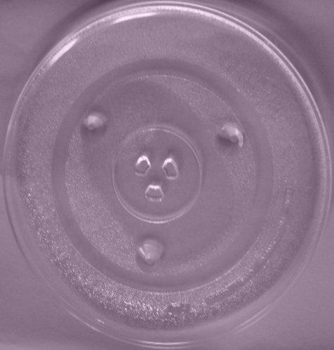 Mikrowellenteller / Drehteller / Glasteller für Mikrowelle # ersetzt Gaggenau Mikrowellenteller # Durchmesser Ø 31,5 cm / 315 mm # Ersatzteller # Ersatzteil für die Mikrowelle # Ersatz-Drehteller # OHNE Drehring # OHNE Drehkreuz # OHNE Mitnehmer