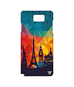 Vogueshell Graffiti Design Printed Symmetry PRO Series Hard Back Case for Samsung Galaxy Note 5