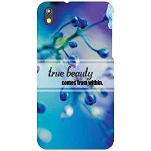 HTC Desire 816 Back Cover - True Beauty Designer Cases