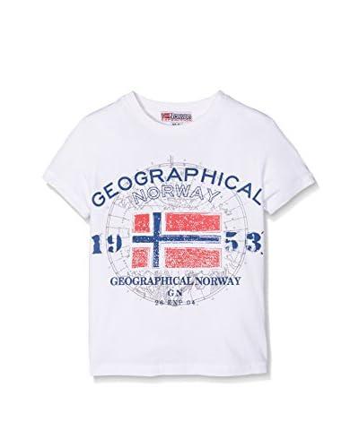 Geographical Norway Camiseta Manga Corta Sngt Blanco