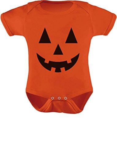 f421c9338a8 TeeStars - Cute Little Pumpkin - Halloween Infant Jack O  Lantern Baby  Onesie 6M Orange