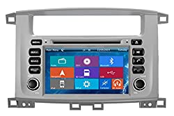 See Crusade Car DVD Player for Toyota Land Cruser 100 1998-2007 Support 3g,1080p,iphone 6s/5s,external Mic,usb/sd/gps/fm/am Radio 7 Inch Hd Touch Screen Stereo Navigation System+ Reverse Car Rear Camara + Free Map Details