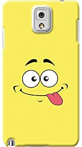 Kasemantra Lol Face Case For Samsung Galaxy Note 3 N9000
