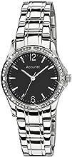 Comprar Accurist LB1744B - Reloj de pulsera para mujer (indicador de color negro, correa de acero inoxidable)