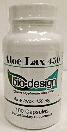 Bio Design Aloe Lax 450mg 100 Capsules