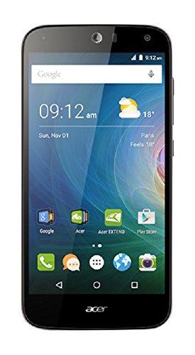 Acer Liquid Z630S Smartphone, Ram 3 GB, Memoria 32GB, Dual SIM, LTE, Batteria 4000 mAh, Slot MicroSD, Nero/Antracite [Italia]