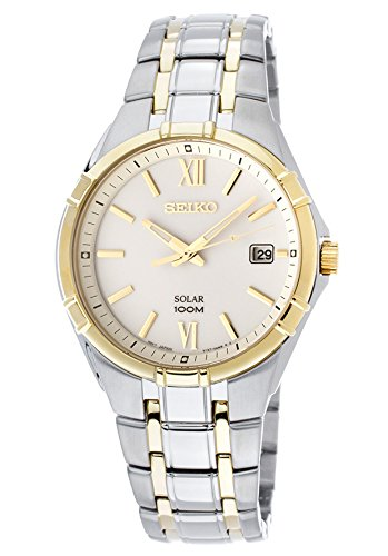 Seiko Solar Men's Quartz Watch SNE216