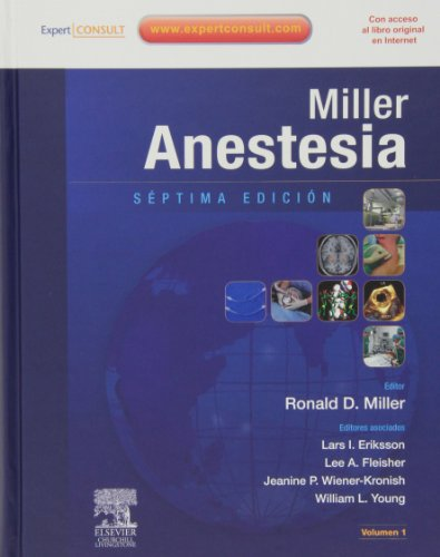 Miller. Anestesia. 2Vol (Spanish Edition)