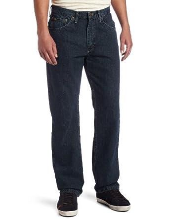 Lee Men's Regular Fit Straight Leg Jean,Bronze Stone, 29x30