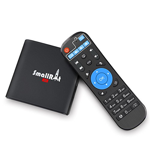 2017 Latest Model SmallRocket Android TV Box Quad-core Mini PC with Software Pre-installed HDMI 2.0 True 4K Media Player