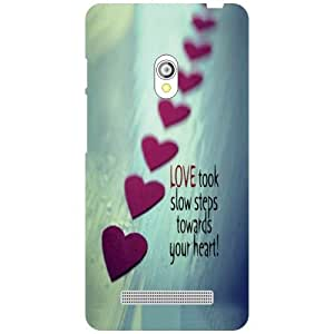 Printland Love Phone Cover For Asus Zenfone 5 A501CG