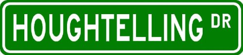 HOUGHTELLING Street Sign ~ Personalized Family Lastname Sign ~ Gameroom, Basement, Garage Sign Novelty** METAL ALUMINUM - Buy HOUGHTELLING Street Sign ~ Personalized Family Lastname Sign ~ Gameroom, Basement, Garage Sign Novelty** METAL ALUMINUM - Purchase HOUGHTELLING Street Sign ~ Personalized Family Lastname Sign ~ Gameroom, Basement, Garage Sign Novelty** METAL ALUMINUM (The Lizton Sign Shop, Home & Garden,Categories,Patio Lawn & Garden,Outdoor Decor)