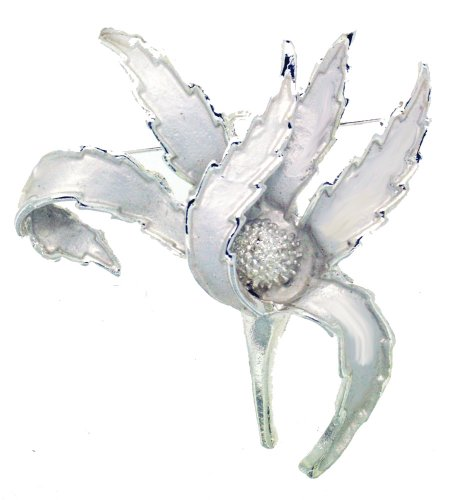 Jodie Rose Folded Flower Brooch
