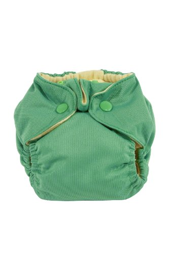 Kissa'S Newborn All-In-One Diaper, Green front-270911