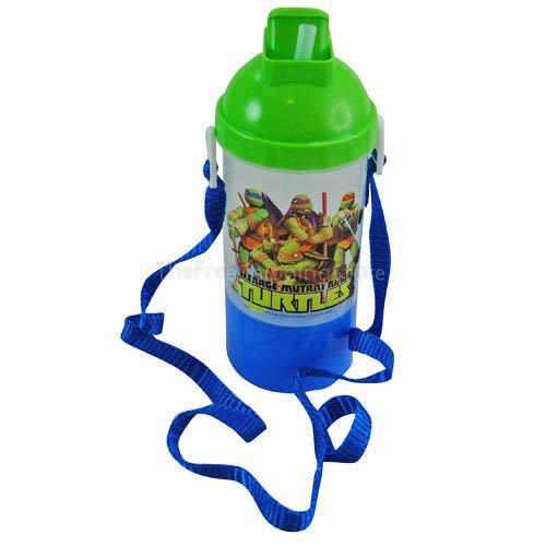 Teenage Mutant Ninja Turtle Rock and Sip Snack Canteen Water Bottle - 1