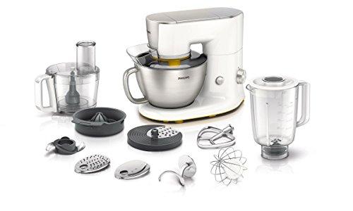 Philips HR7954/00  Kitchen Machine, Design elegante e Risultati eccellenti, con 10 Accessori inclusi - Avance Collection -