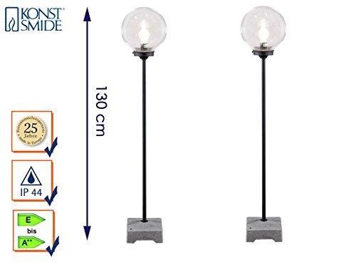 konstsmide-set-di-2-terrazze-lampada-sfera-lampione-da-esterni-lodi-130-cm-vetro-acrilico-455-750