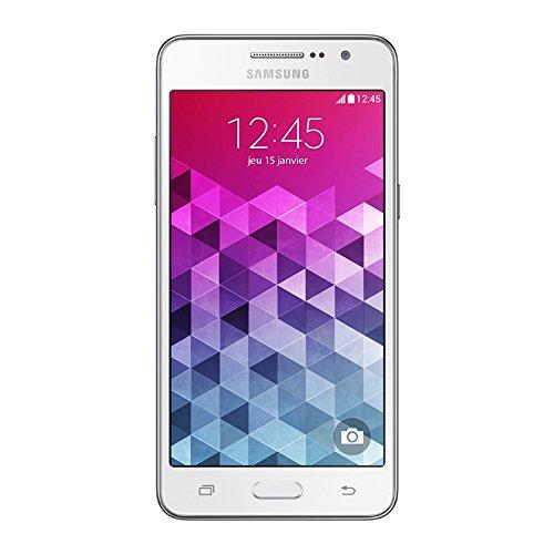 Samsung Galaxy Grand Prime Smartphone débloqué 4G (Ecran : 5 pouces – 8 Go – Simple SIM – Android 4.4 KitKat) Blanc