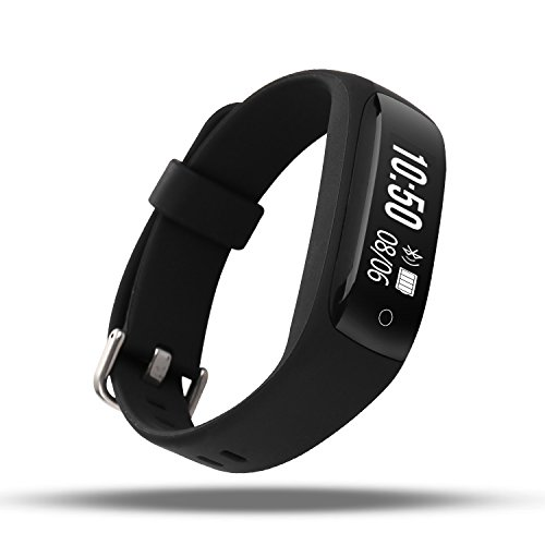 AOKII Heart Rate Monitor,Wirless Fitness Tracker,Sport Wristband with Multi-Functions Activity Smart Bracelet Pedometer Watch