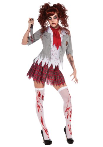 Rubie's Costume Zombie School Girl Adult Costume