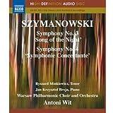 echange, troc Szymanowski : Symphonies n° 3 et n° 4 [Blu-ray]