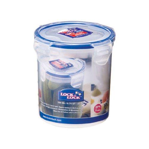 Lock & Lock HPL 932D Boîte spécifique à cornichons, chocolat en poudre 700 ml Etanche à 100% air et liquide