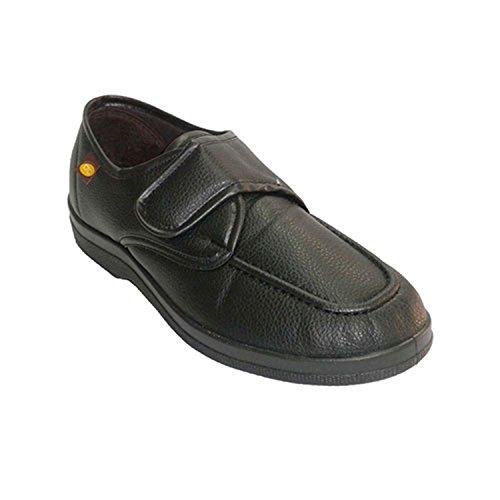 Simulazione di scarpe uomo scarpa con velcro Doctor Cutillas nero taille 43